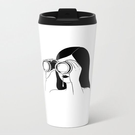 You're so far away Metal Travel Mug