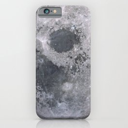 Moon Grey scale iPhone Case
