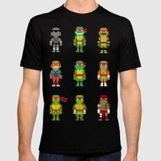 RAPH / TMNT Black SMALL Mens Fitted Tee