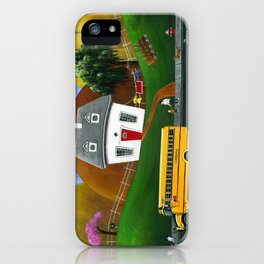 Hilly Homework iPhone Case