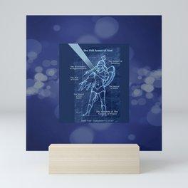 Full Armor of God - Warrior Girl 2 Mini Art Print