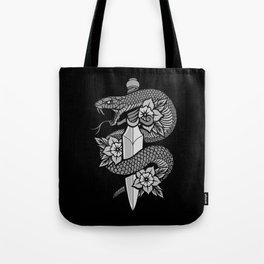 Snake & Dagger Tote Bag