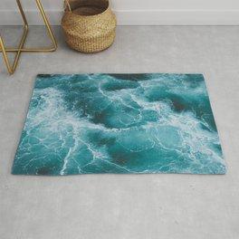 Electric Ocean Rug