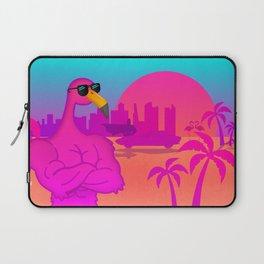 Flabio the flamingo lover Laptop Sleeve
