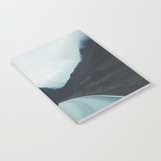 Dark road Notebook