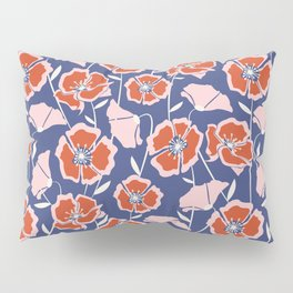 Poppin Poppies Pillow Sham