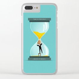 The Time Keeper Clear iPhone Case