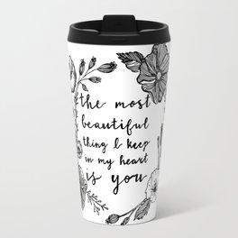 Beautiful Poppies Travel Mug