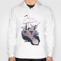 kraken Hoodies featuring Kraken by Alex Ray