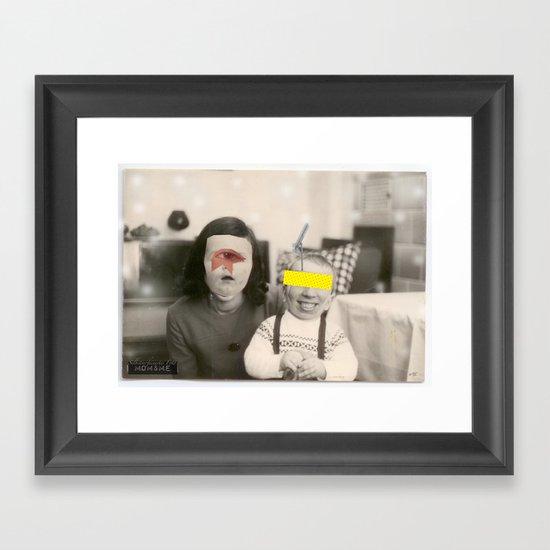 Ma and Me 2 Framed Art Print