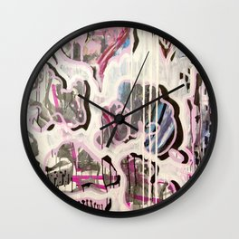 PUFFY CHEATER CHEETA Wall Clock