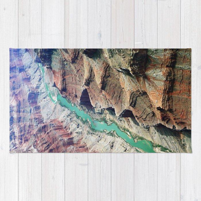 Grand Canyon Bird's eye view #4 Rug