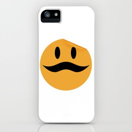 Moustache 11 iPhone Case