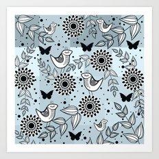 pattern 77 Art Print