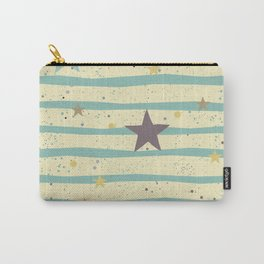 Stripes Star Carry-All Pouch