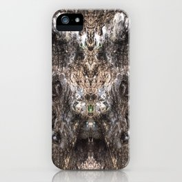 Hungry Hallow Tree iPhone Case