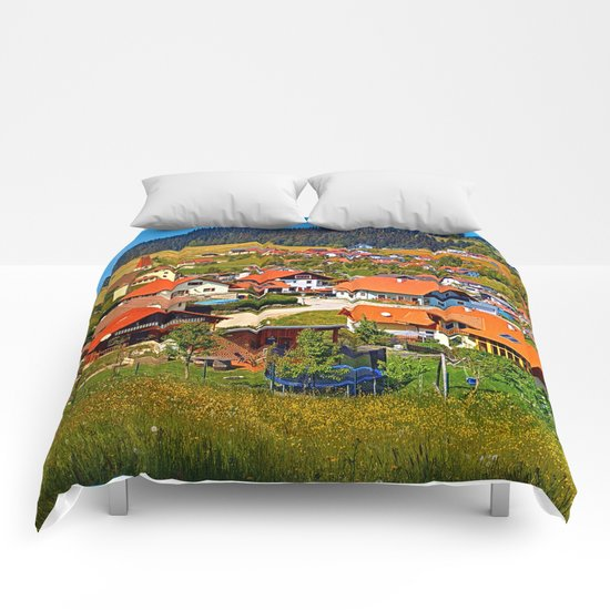 The village and the valley Comforters