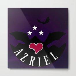 Azriel Illyrian Night Court Metal Print