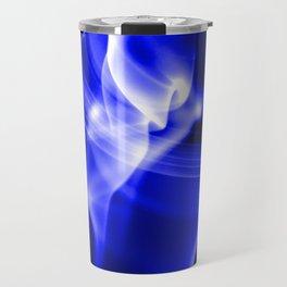 Smoke Abstract 1 Travel Mug