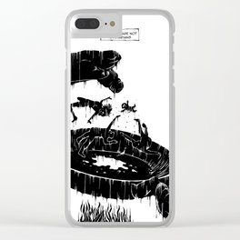 Pigs are not vegetarians Clear iPhone Case