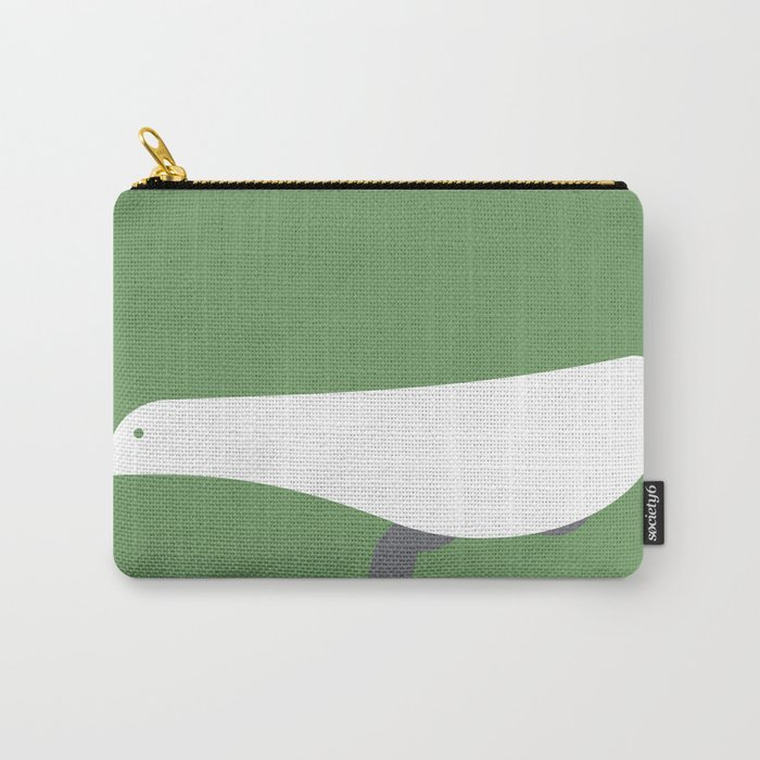 Bicycle Bird Minimal Carry-All Pouch