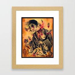 japanese ghost Framed Art Print