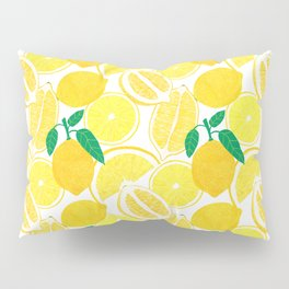 Lemon Harvest Pillow Sham