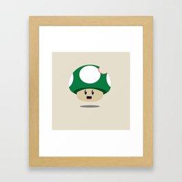 MUSHROOM. Framed Art Print