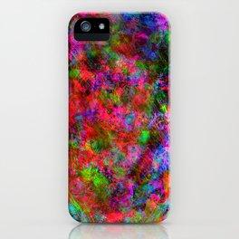 Manic Fragrance iPhone Case