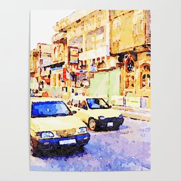 Aleppo: Taxi through the streets of Aleppo Poster
