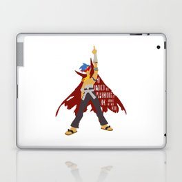 Kick reason to the curb! Laptop & iPad Skin