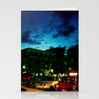 fargo Stationery Cards featuring Fargo City Nights One, 2011 by Libby Walkup Photography