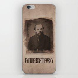 Fyodor Dostoevsky iPhone Skin