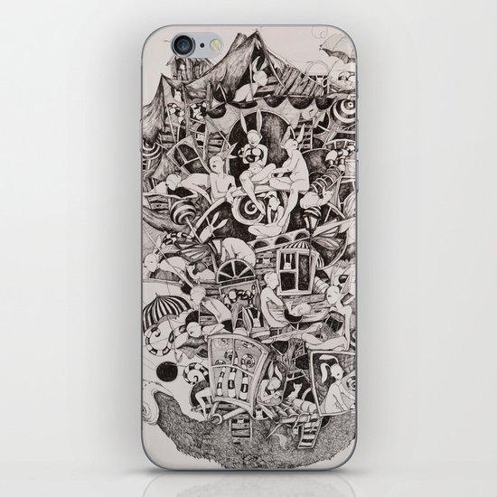 Flighless bird iPhone & iPod Skin