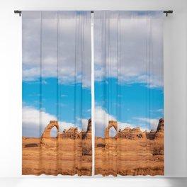 Delicate Arch 0414 - Arches National Park, Moab, Utah Blackout Curtain