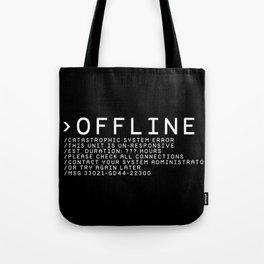 OFFLINE Tote Bag