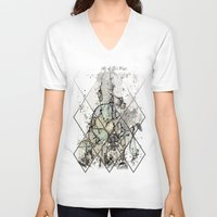 starry night V-neck T-shirts featuring Starry Night by Heidi Fairwood