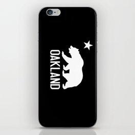 Oakland and California Bear iPhone Skin