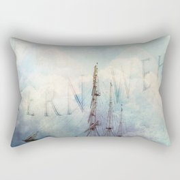 fernweh for distant lands [expedition to Galapagos] v2 Rectangular Pillow