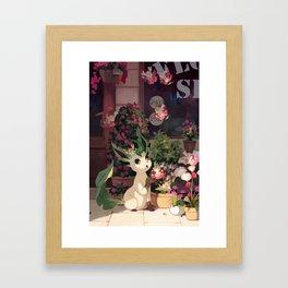 Leafeon Framed Art Print