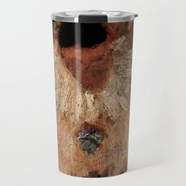 """""""The Painter Armand-Jean as a Clown"""" by Georges Seurat Travel Mug"""