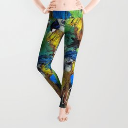 BLUE PARROT Leggings