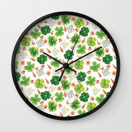 Irish luck sharing // St Paddy's stravaganzza Wall Clock