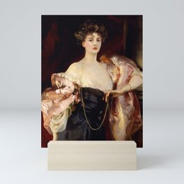 Lady Helen Vincent by John Singer Sargent Mini Art Print