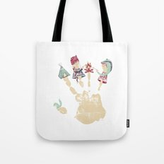 MARSHMALLOWS & CAMPFIRESa Tote Bag