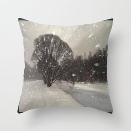 Out of the window... Throw Pillow