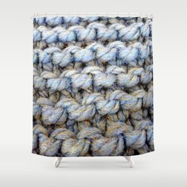 Wool 1 Shower Curtain
