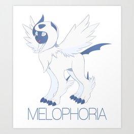 mega absol - melo Art Print