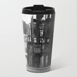 reflection of villa hügel, essen, germany Travel Mug