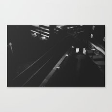Hotel Road Canvas Print